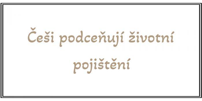 Roman Křížek - Finanční poradce - Češi podceňují životní pojištění
